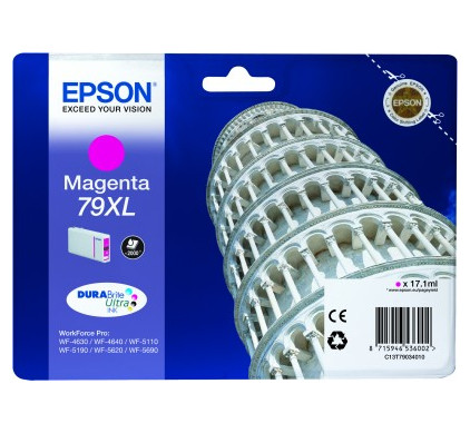 Epson 79 XL Cartridge Magenta C13T79034010