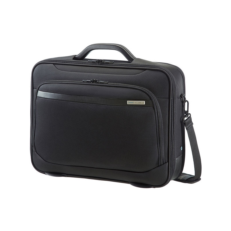 Samsonite Bailhandle Schoudertas 15 6 Zwart : Coolblue laptoptas kopen internetwinkel