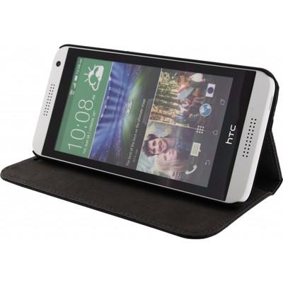 Mobilize Magnet Book Card Stand Case HTC Desire 820 Zwart
