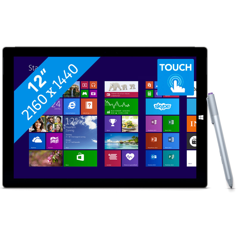 Microsoft Surface Pro 3 - 256gb - I5 - 8gb