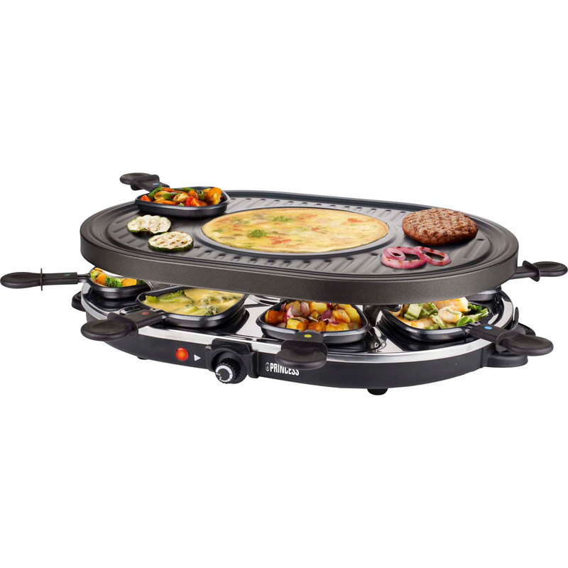 Princess Raclette 8 Oval Grill Party 162700