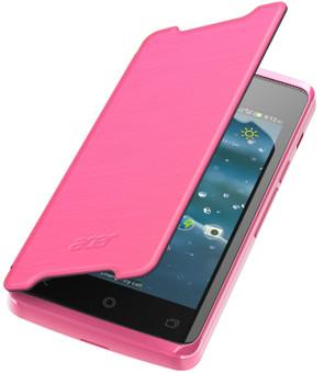 Acer Liquid Z200 Flip Case Roze
