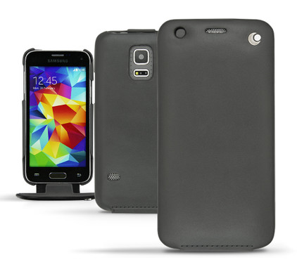 Noreve Tradition Leather Case Samsung Galaxy S5 Mini Zwart