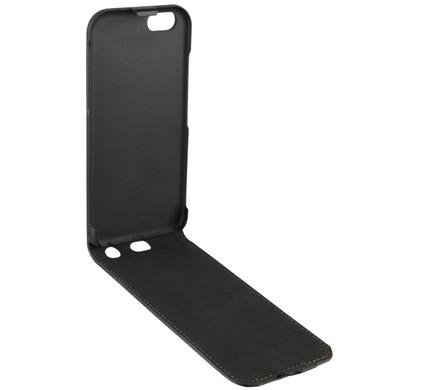 Xqisit Flipcover Apple iPhone 6/6s Zwart