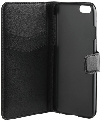 Xqisit Slim Wallet Case iPhone 6/6s Zwart