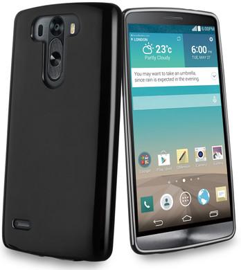 Muvit Minigel Case LG G3 S Zwart