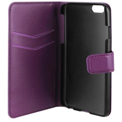 Xqisit Slim Wallet Case iPhone 6 Paars