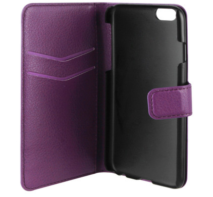 Xqisit Slim Wallet Case iPhone 6 Paars