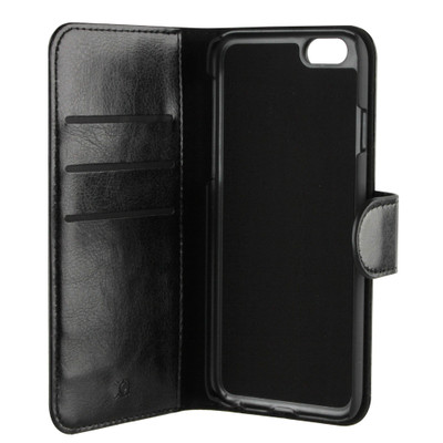 Xqisit Wallet Case Eman iPhone 6 Zwart