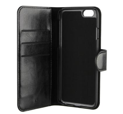 Xqisit Wallet Case Eman Apple iPhone 6/6s Zwart