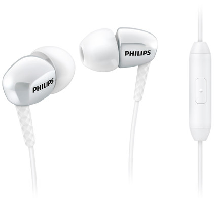 Philips SHE3905 Wit
