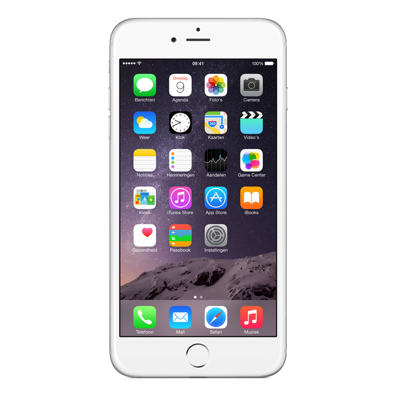 Apple Iphone 6 Plus 64 Gb Zilver T-mobile