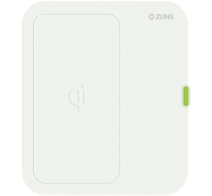 ZENS Qi Single Wireless Charger Wit