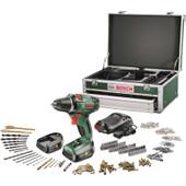 Bosch PSR 14,4 Li-2 + 241 delige Toolbox