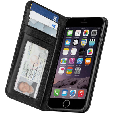 Case-Mate Wallet Folio Case Apple iPhone 6 Zwart