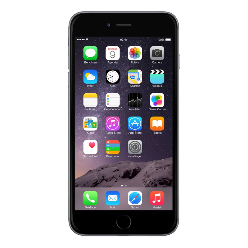 Apple Iphone 6 Plus 16 Gb Space Gray T-mobile