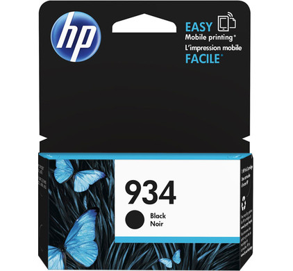 HP 934 Cartridge Zwart (C2P19AE)