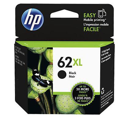 HP 62XL Cartridge Zwart (C2P05AE)
