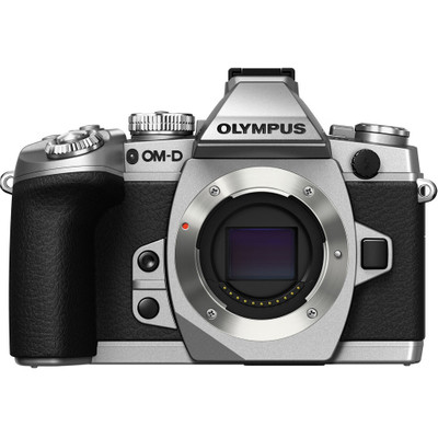 Image of Olympus OM-D E-M1 body zilver