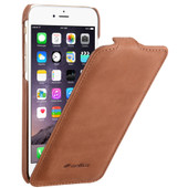 Melkco Leather Case Apple iPhone 6 Bruin