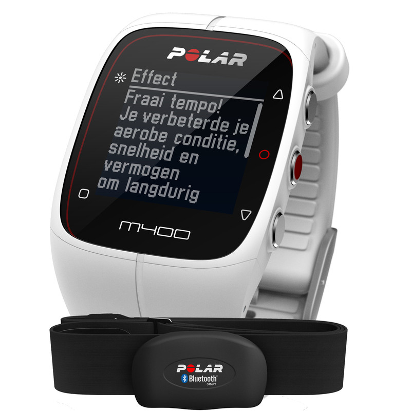 Polar M400 HR white