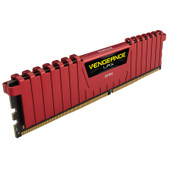 Corsair Vengeance LPX 8 GB DIMM DDR4-2400 CL 14 Rood