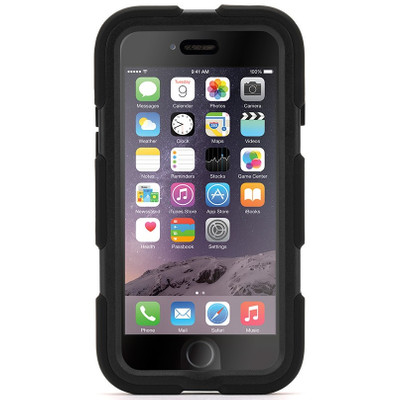 Griffin Survivor All Terrain Apple iPhone 6 Plus Zwart