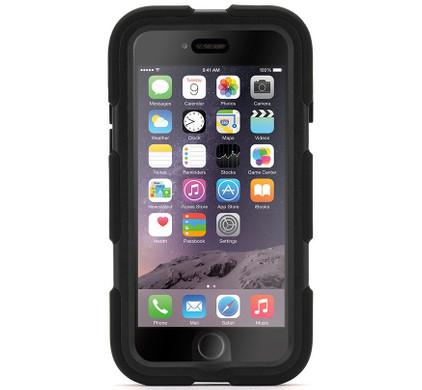 Griffin Survivor All Terrain Apple iPhone 6 Plus Zwart