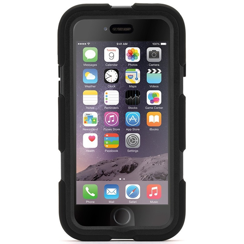Griffin Survivor All Terrain Apple iPhone 6 Zwart