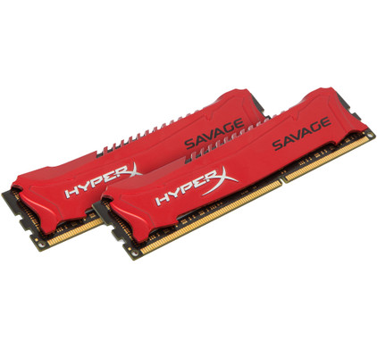 Kingston HyperX Savage 16 GB DIMM DDR3-1866 2 x 8 GB