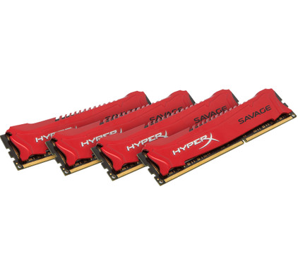 Kingston HyperX Savage 32 GB DIMM DDR3-1600 4 x 8 GB