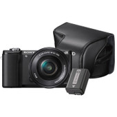 Sony Alpha A5000 zwart + accu + tas