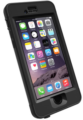 Lifeproof Nuud Case Apple iPhone 6 Zwart