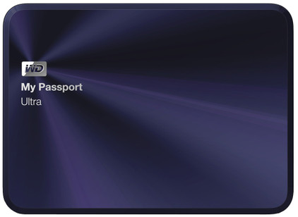 WD My Passport Ultra Metal Edition 2 TB Blauw-Zwart