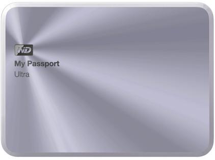 WD My Passport Ultra Metal Edition 2 TB Zilver