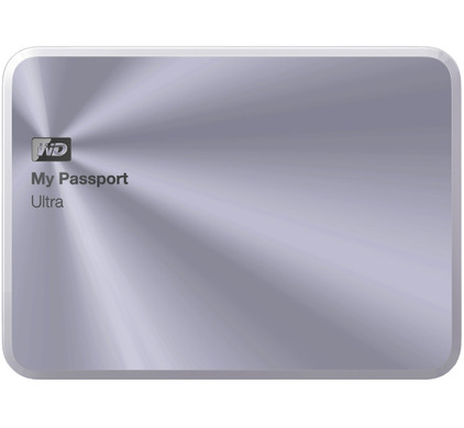 WD My Passport Ultra Metal Edition 2 TB Zilver