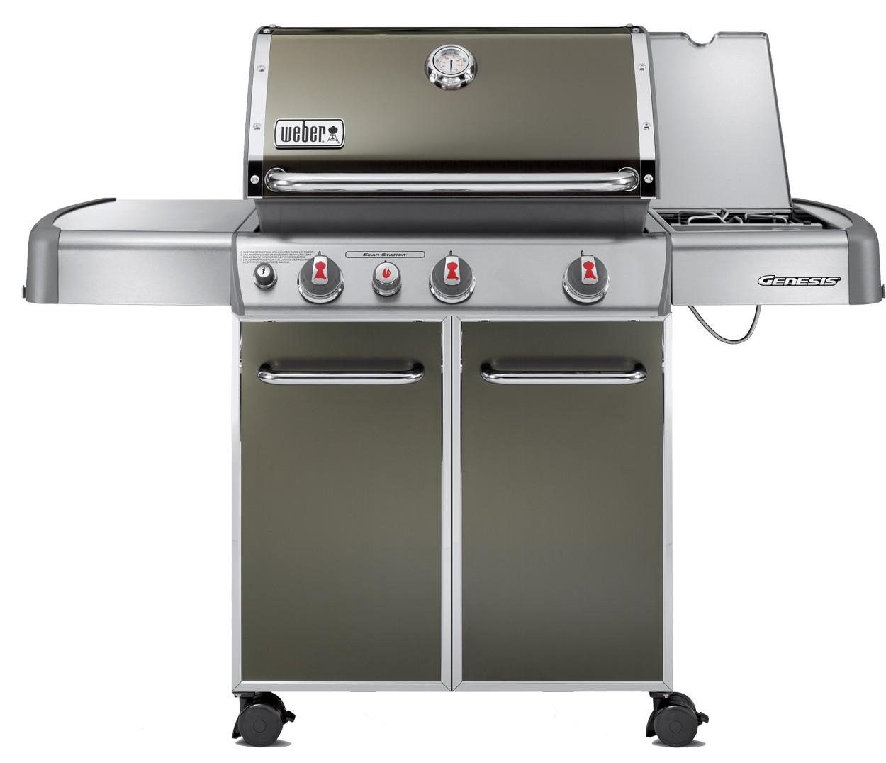 Barbecues Weber Genesis E-330 GBS rook grijs