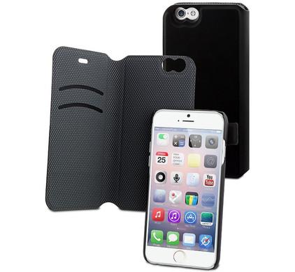 Muvit Magic Folio Wallet Case Stand Apple iPhone 6 Zwart
