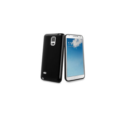 Muvit Minigel Case Samsung Galaxy Note 4 Zwart