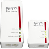 AVM FRITZ!Powerline 540E WLAN Set International WiFi 500 Mbps 2 adapters