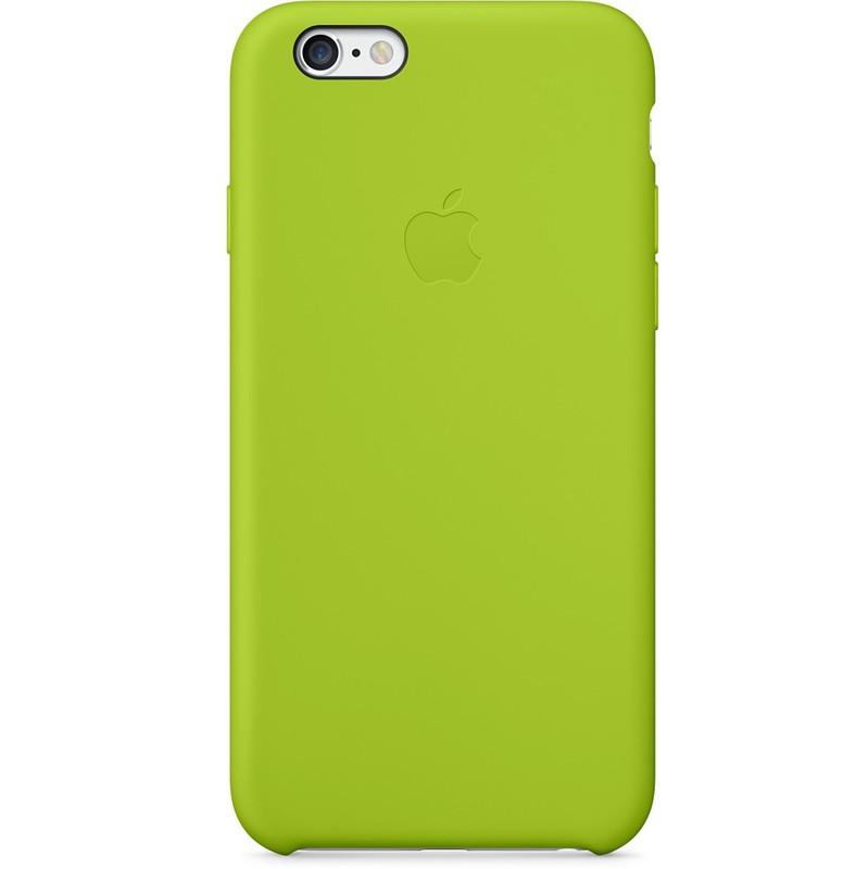 Apple Silicone Case Iphone 6 Groen