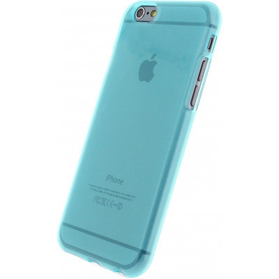 Mobilize Gelly Case Apple iPhone 6 Turqouise Transparant