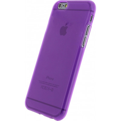Mobilize Gelly Case Apple iPhone 6 Purple Transparant