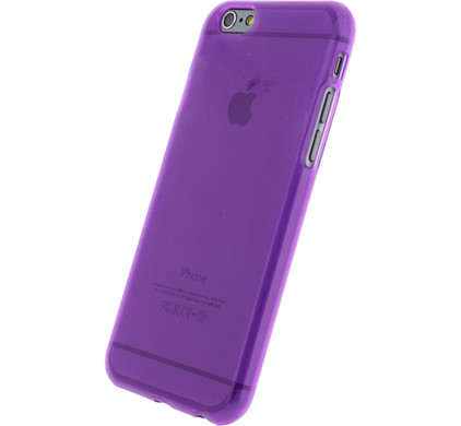 Mobilize Gelly Case Apple iPhone 6/6s Purple Transparant