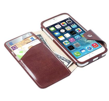 Krusell Book Case Kalmar Apple iPhone 6/6s Bruin