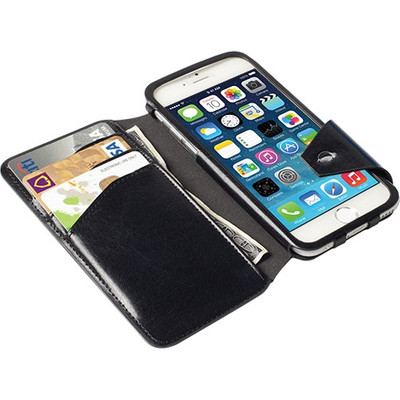 Krusell FlipCover Kalmar Apple iPhone 6 Zwart