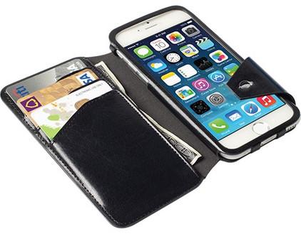 Krusell Book Case Kalmar Apple iPhone 6/6s Zwart
