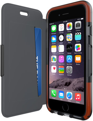 Tech21 Classic Shell Wallet Apple iPhone 6 Plus/6s Plus Zwart