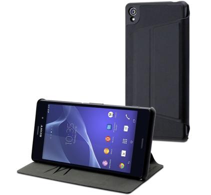 Muvit Ultra Slim Folio Card Case Sony Xperia Z3 Zwart