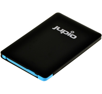 Jupio Power Vault Card 2500 mAh Zwart